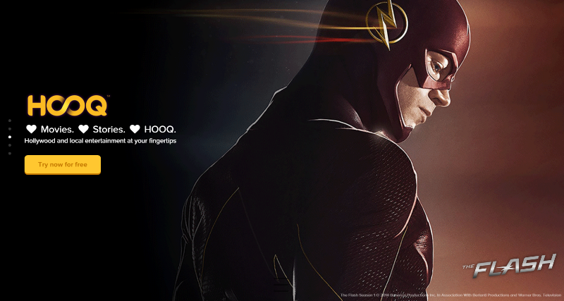 The Flash on Hooq