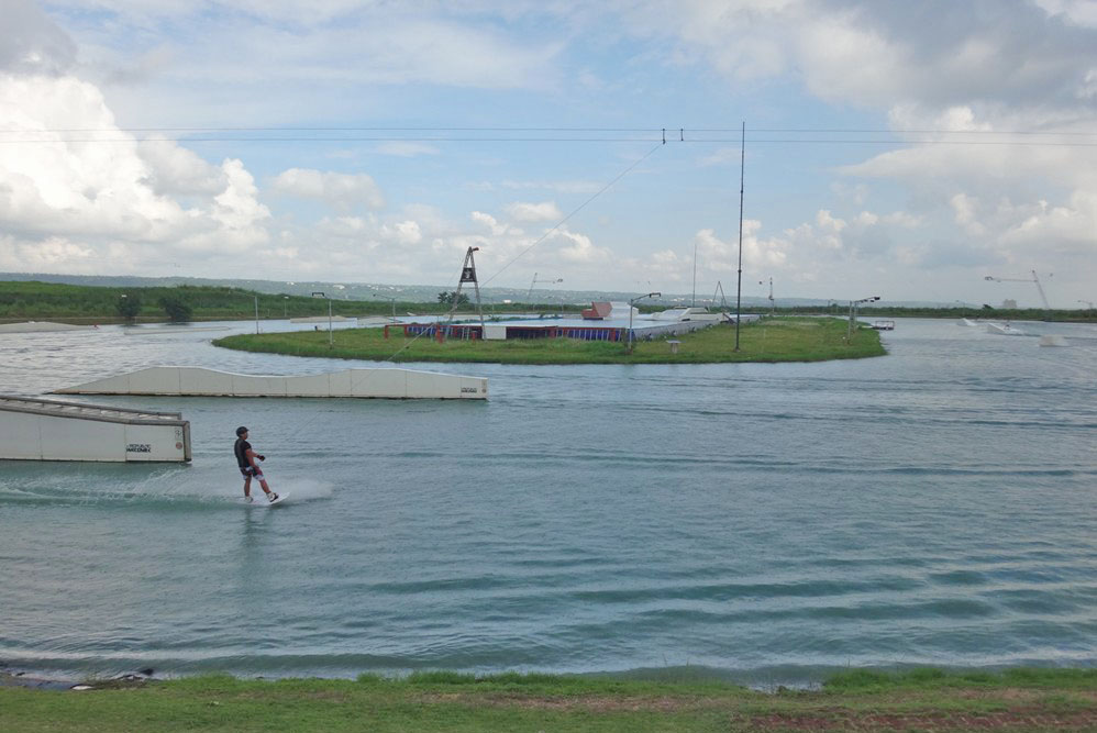 Wakeboarding Cable System