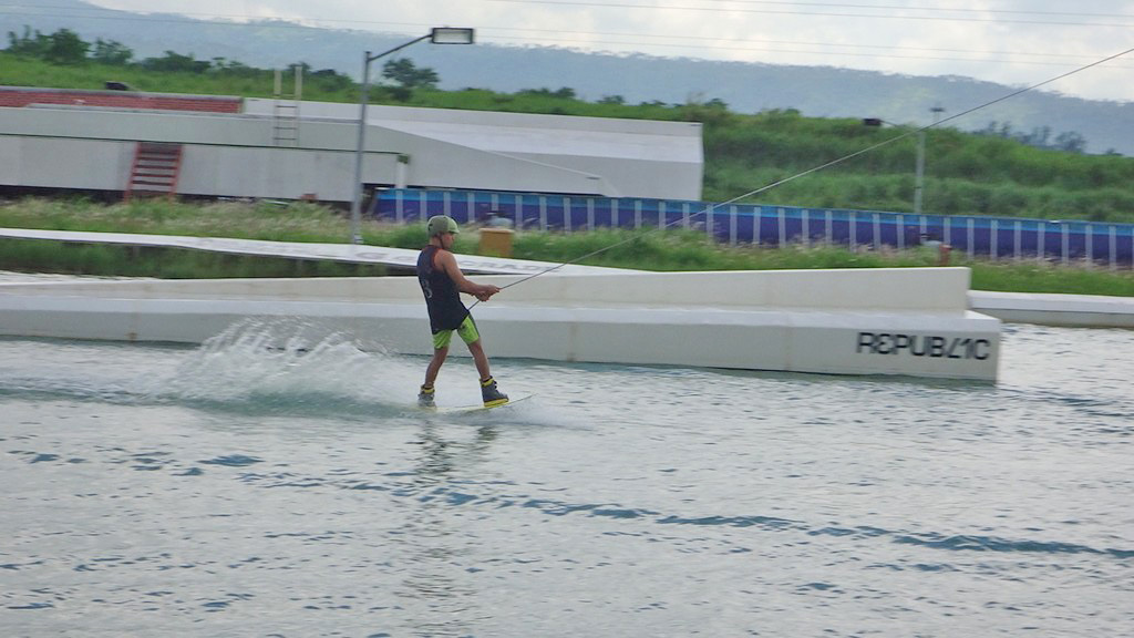 Wakeboarding in Nuvali