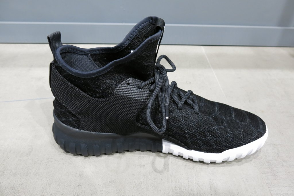 Adidas Tubular Runner Weave (Core Black, Tomato \\ u 0026 White) End