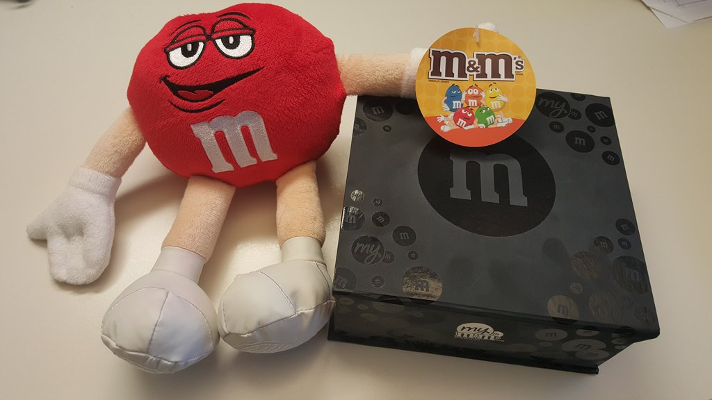 Customized M&Ms for Valentine's Day (2)