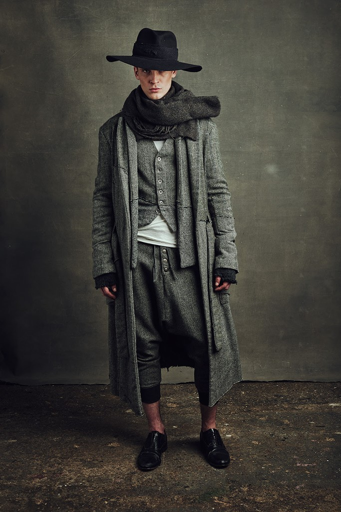 Greg Lauren presents classic hero wear at the New York Men ...