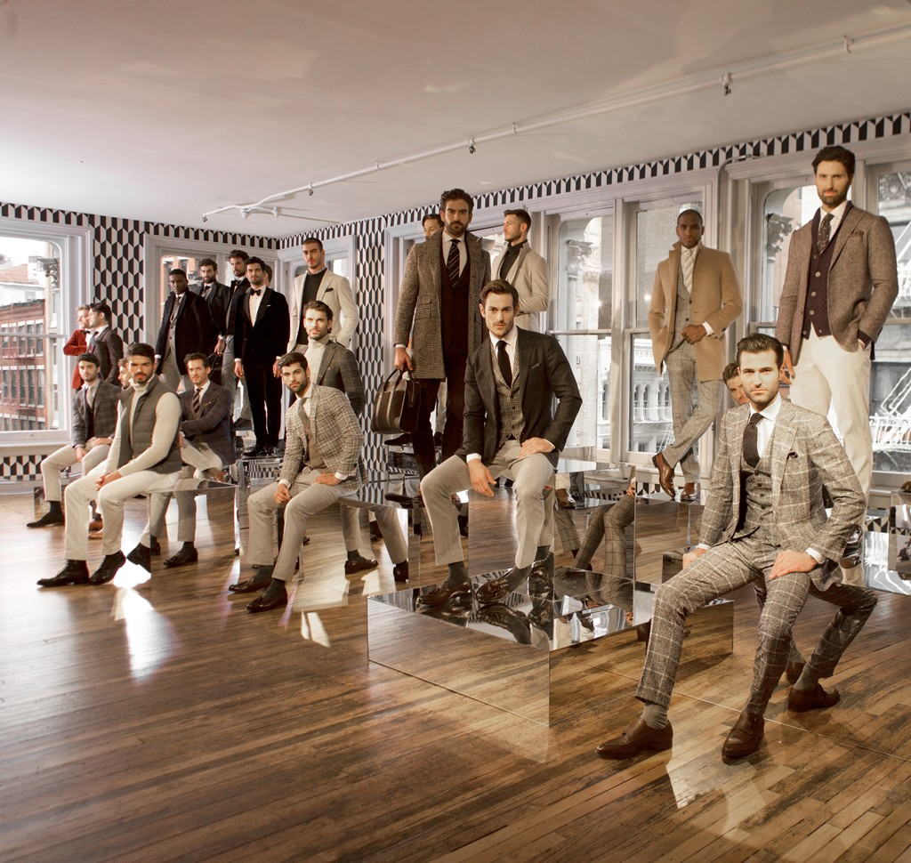 Suitsupply NYFW Men's Fall Winter 2016 Suits (10)