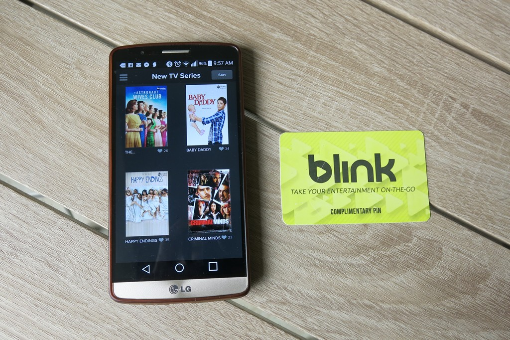 Blink VOD App
