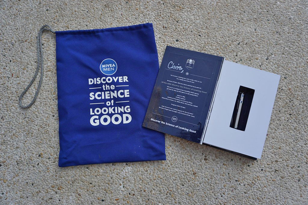 Nivea Bro Book Invitation
