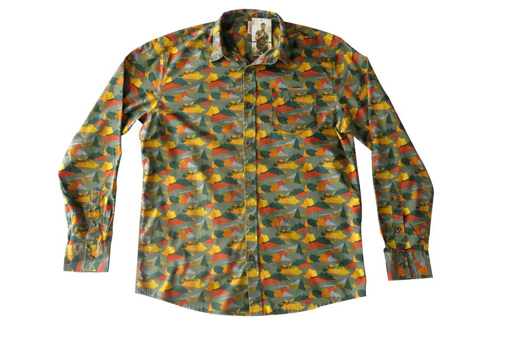 Penshoppe Camo-Inspired Casual Men's Long Sleeves (1)
