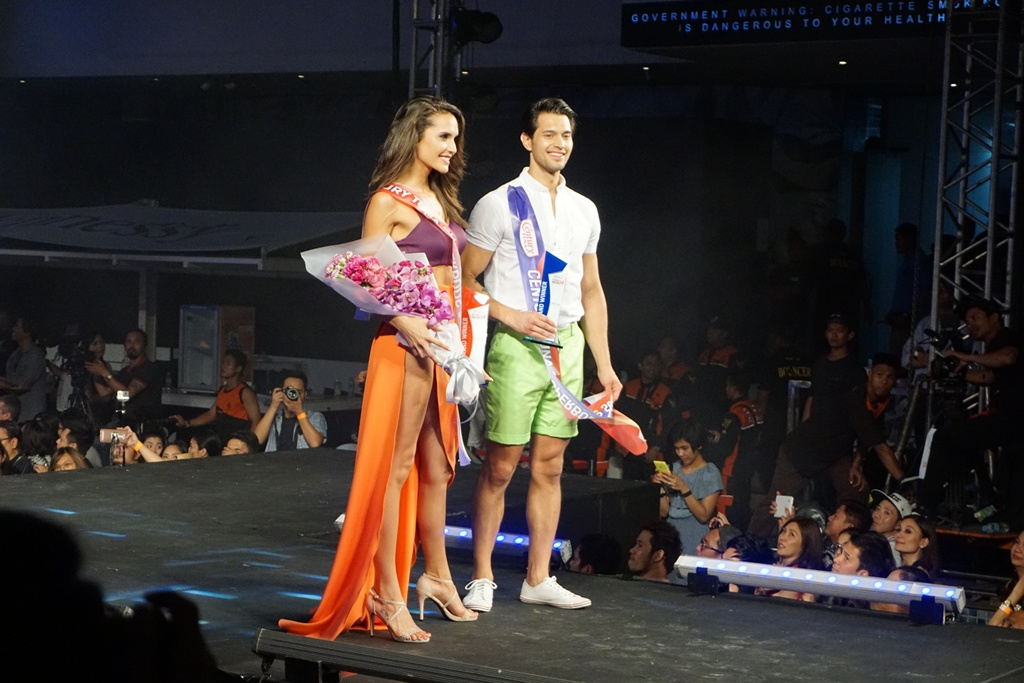 Century Tuna Superbods 2016 Winners Tom Esconde and Olivia Medina