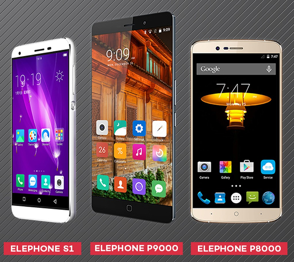 Elephone S1 P9000 and P8000