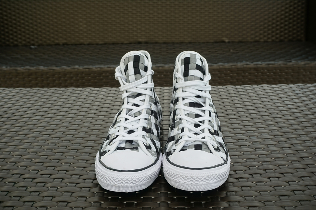 d44bd181233b Converse and their kickass Chuck Taylor All Star Woven Sneakers ...