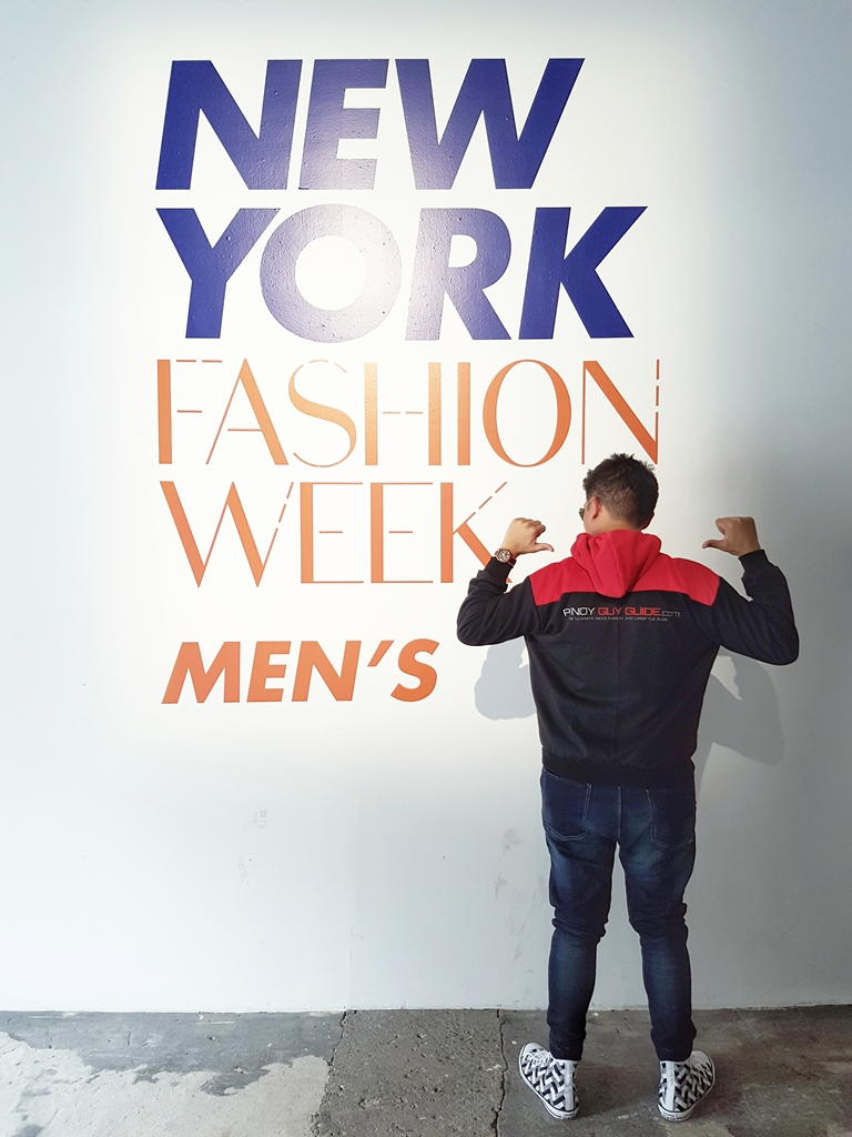 PGG at New York Fashion Week Men's