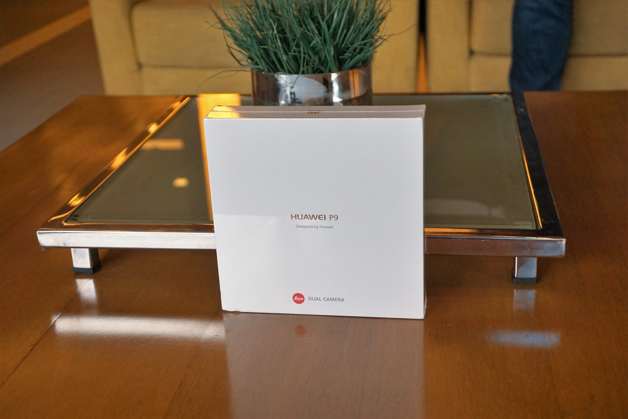 Huawei P9 packaging