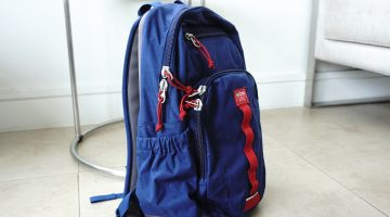 "STM Trestle 13"" Laptop Backpack – Navy Blue (2)"