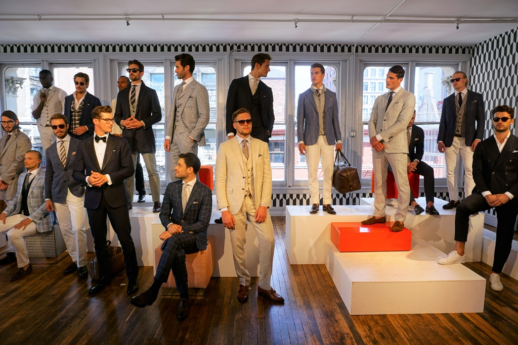 Suitsupply at NYFW Spring Summer 2017 at Soho Manhattan (7)