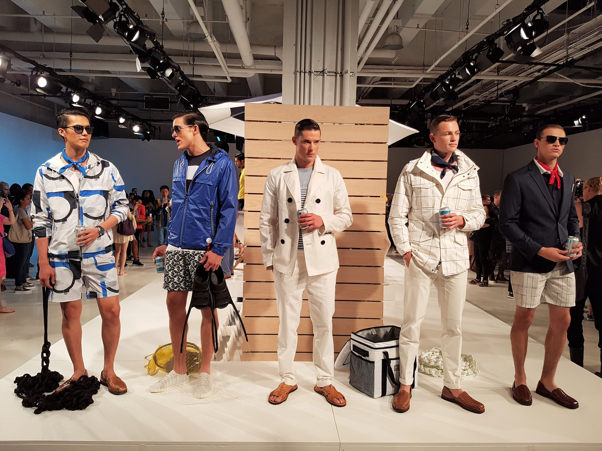 Nautica Spring Summer 2017 At Nyfw Men S Is Inspired By A