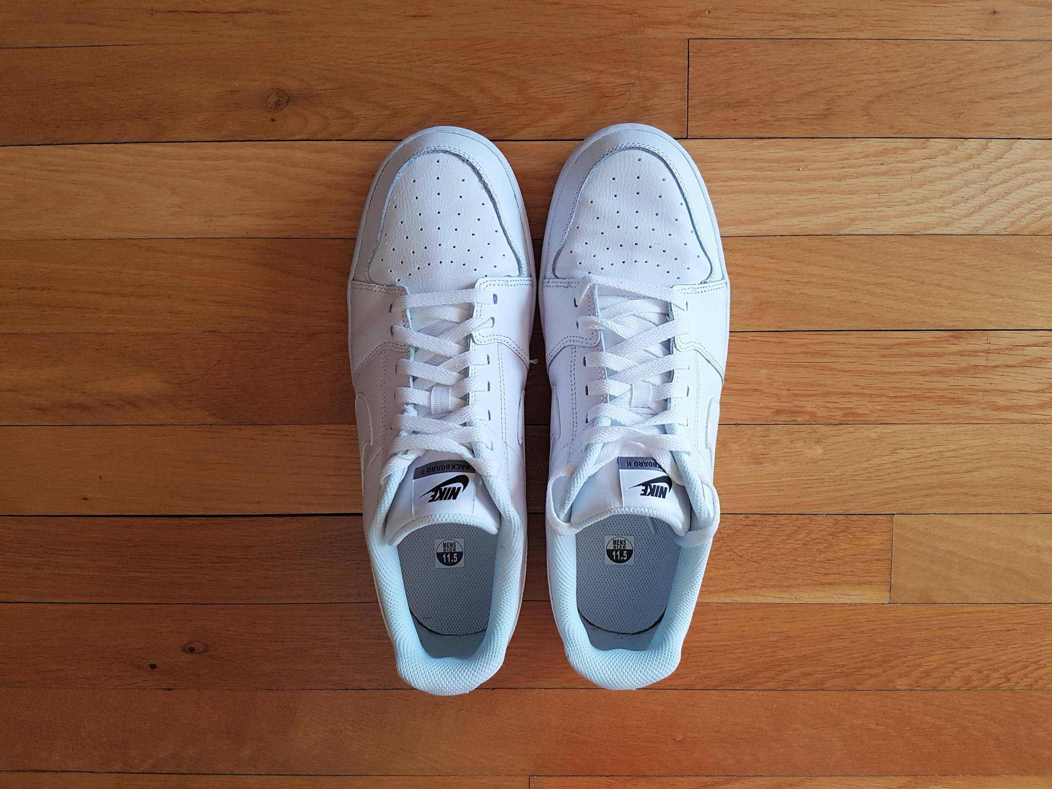 Nike Backboard II White Sneakers for Men (1)