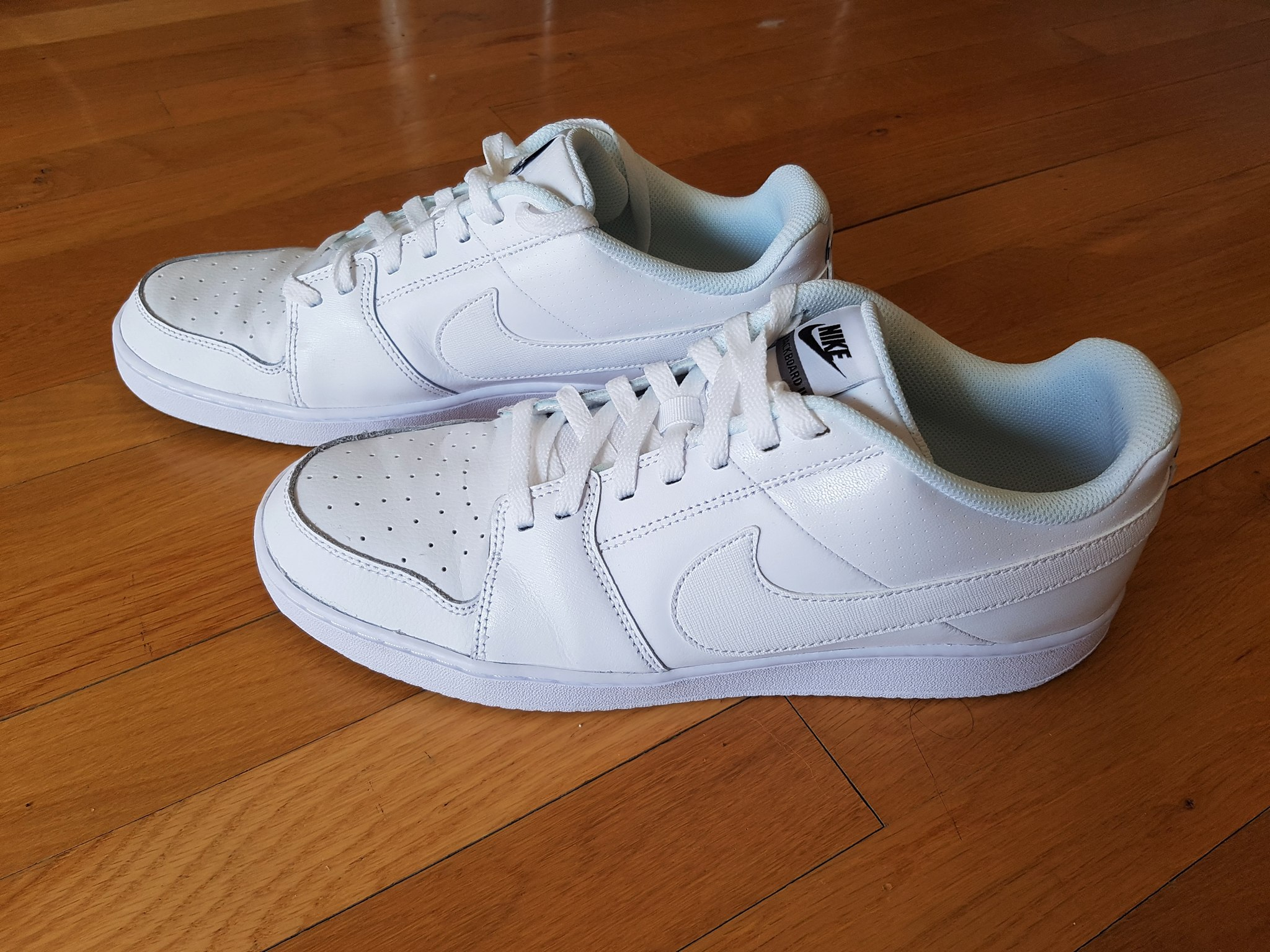 Nike Backboard II White Sneakers for Men (2)