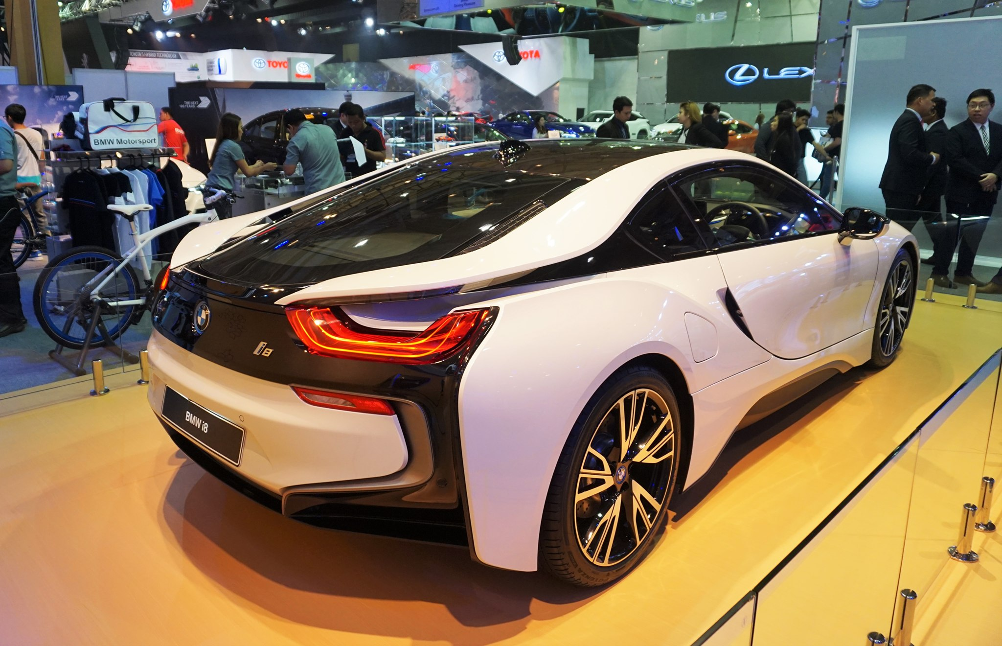 Captivating Bmw I8 At Philippine International Motor Show 1