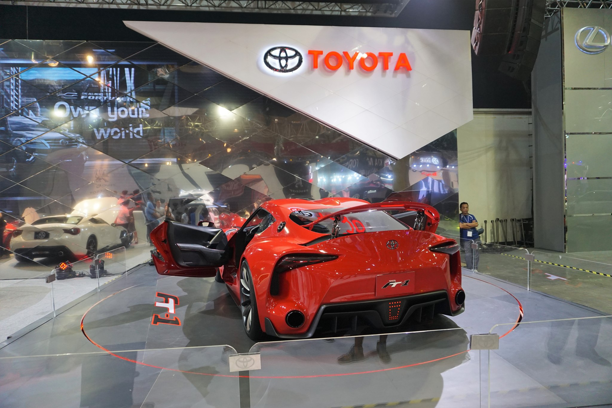 Awesome Toyota Ft 1 Concept Car At The Philippine