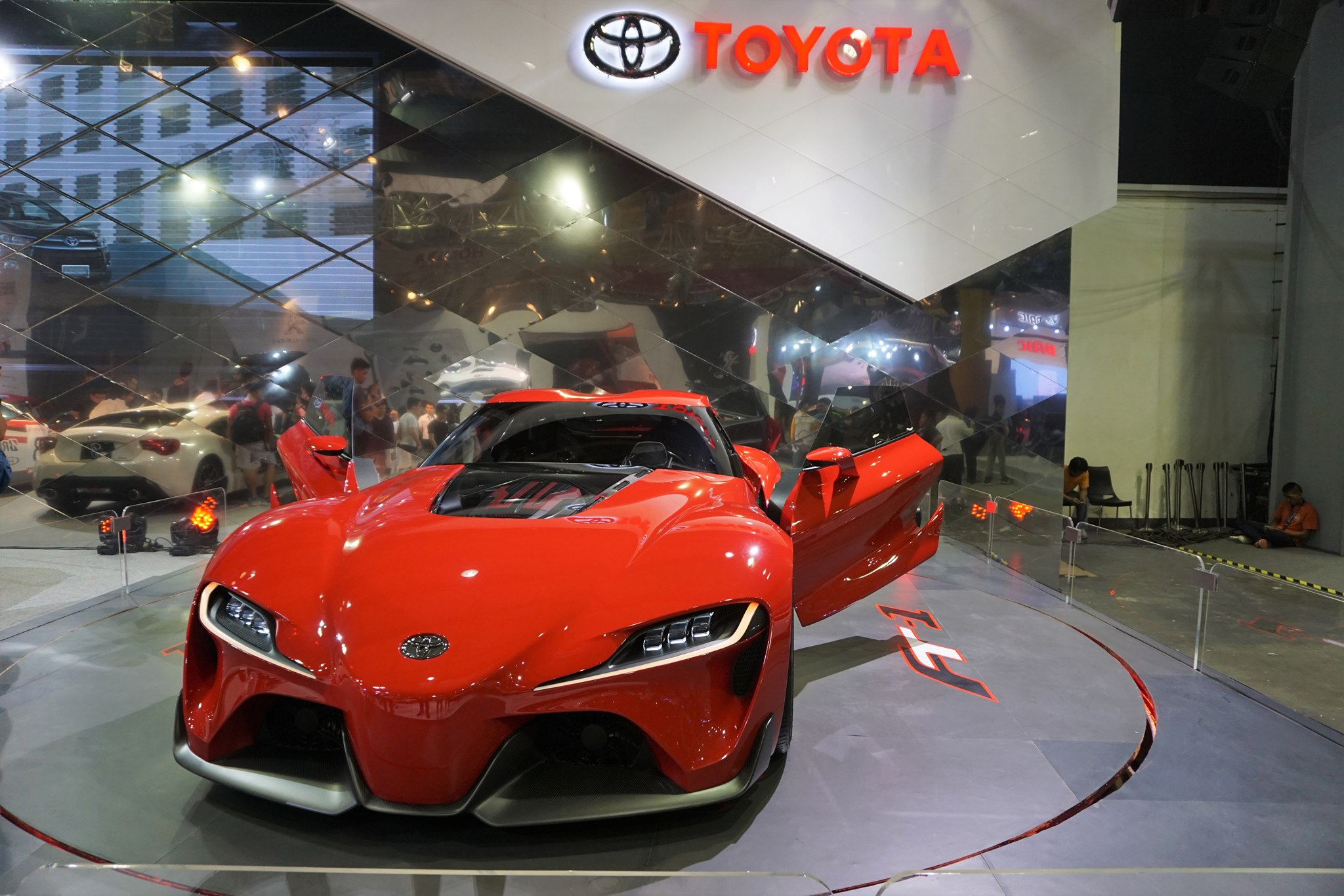 Perfect Toyota Ft 1 Concept Car At The Philippine