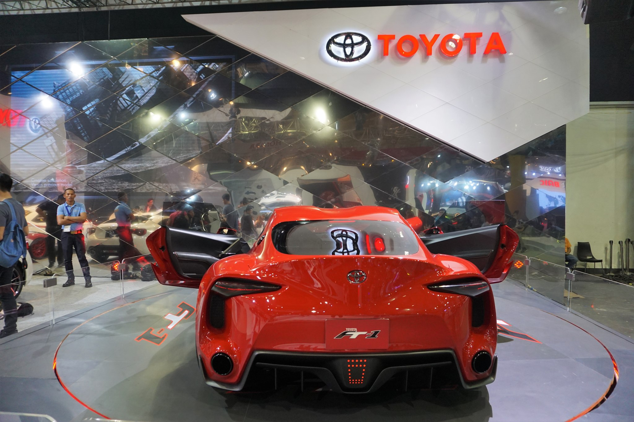Toyota Ft 1 Concept Car At The Philippine