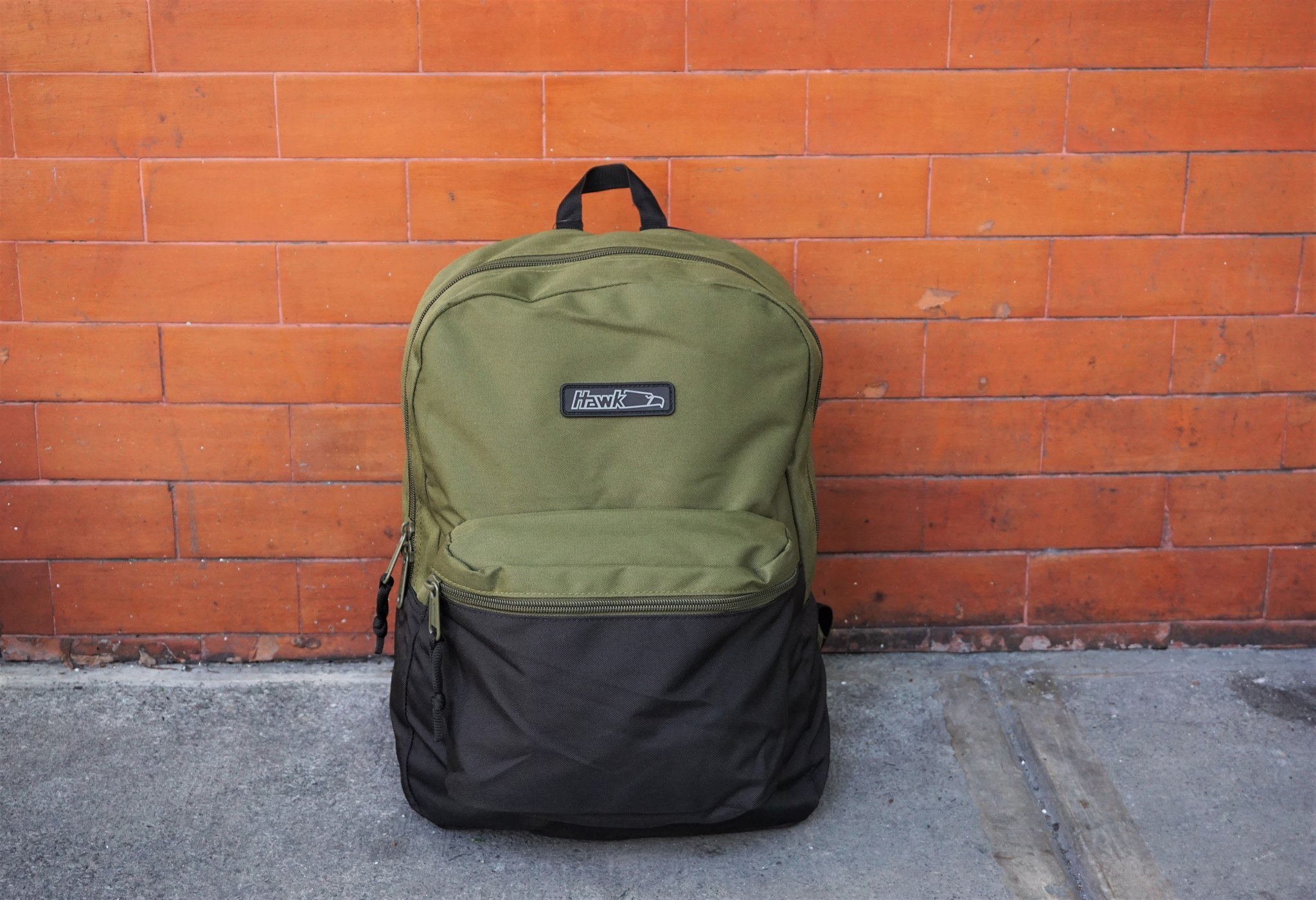Hawk Bags  Fatigue Black Backpack is for the Stylish Male Students ... 25a059a4b8