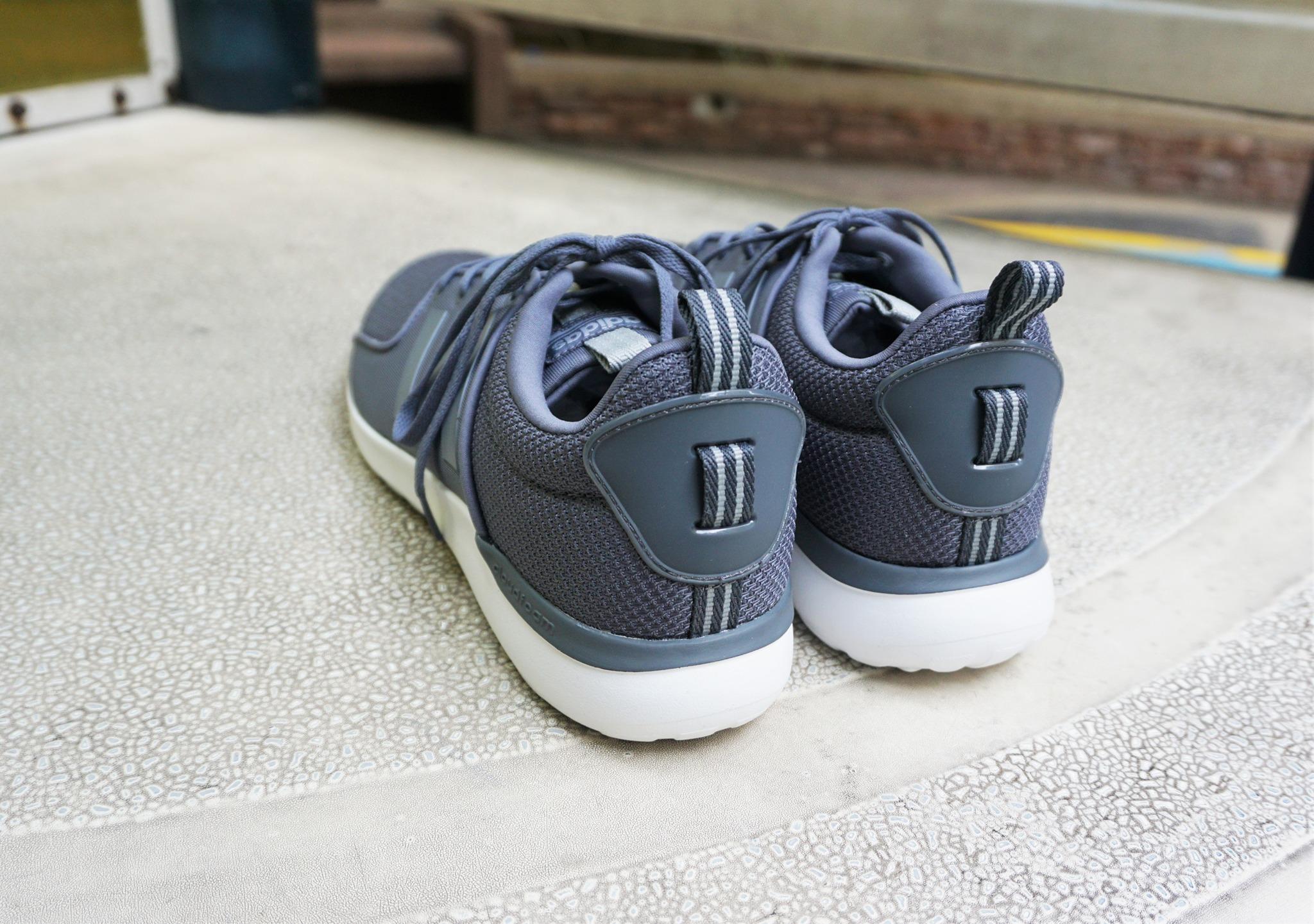 adidas neo cloudfoam mens grey